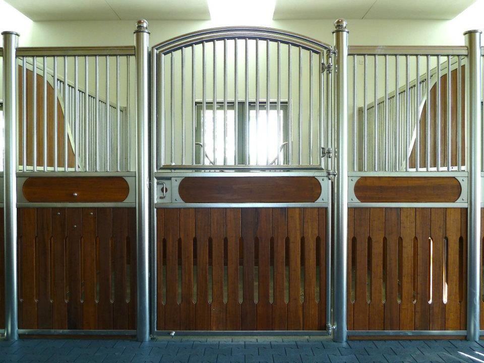 Laake Stainless Steel Stall Front Horse Barn Doors Barn Design Modern Barn