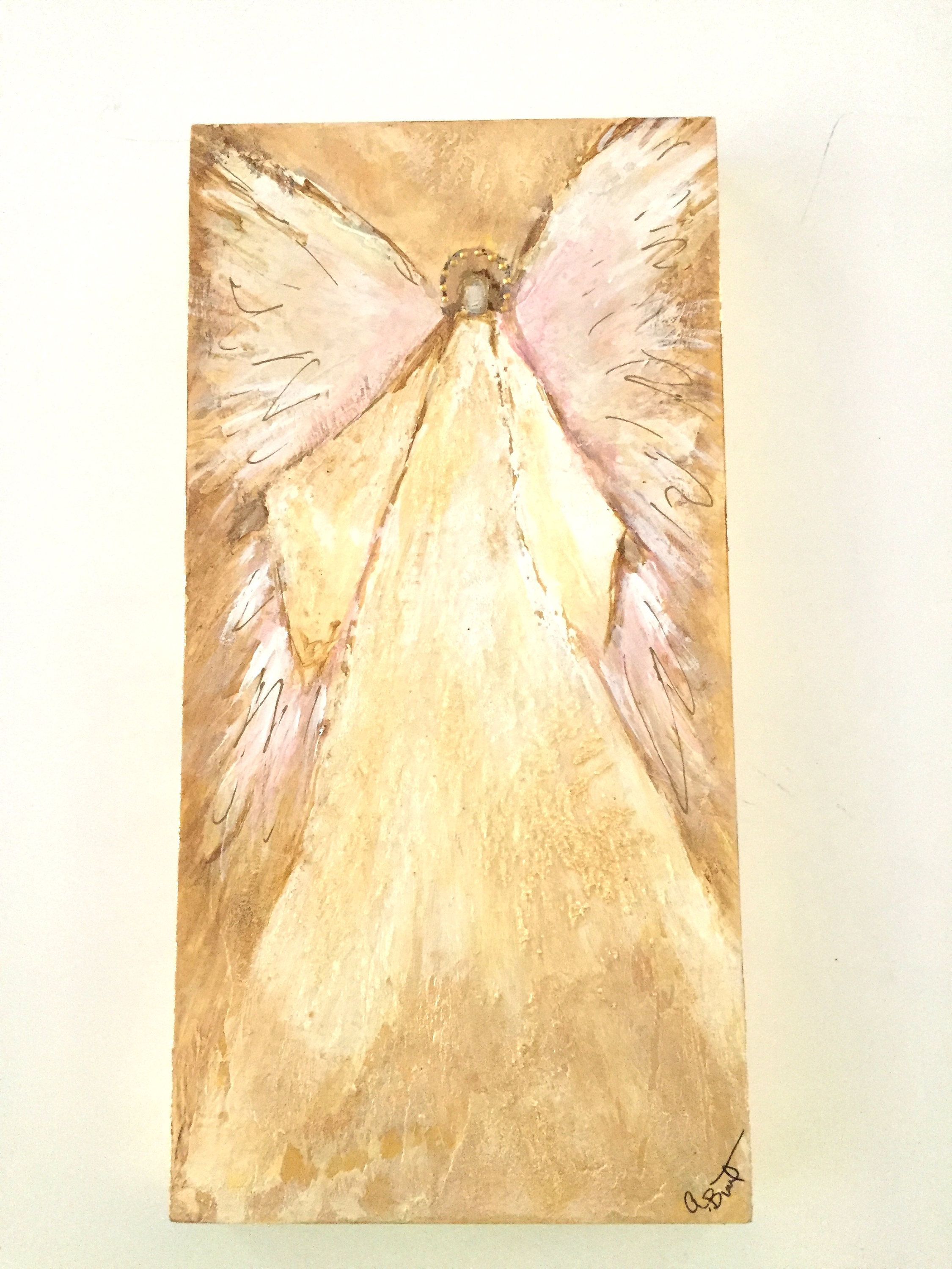 Neutral colors Nursery wall decor Guardian Angels Angel Art decor ...
