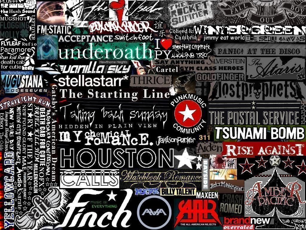 bands music concerts collage wallpaper music bands