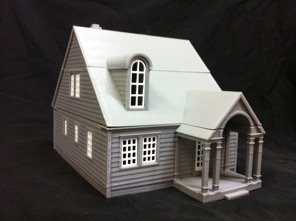 3dprinted House Model 3dprinting Architecture 3d