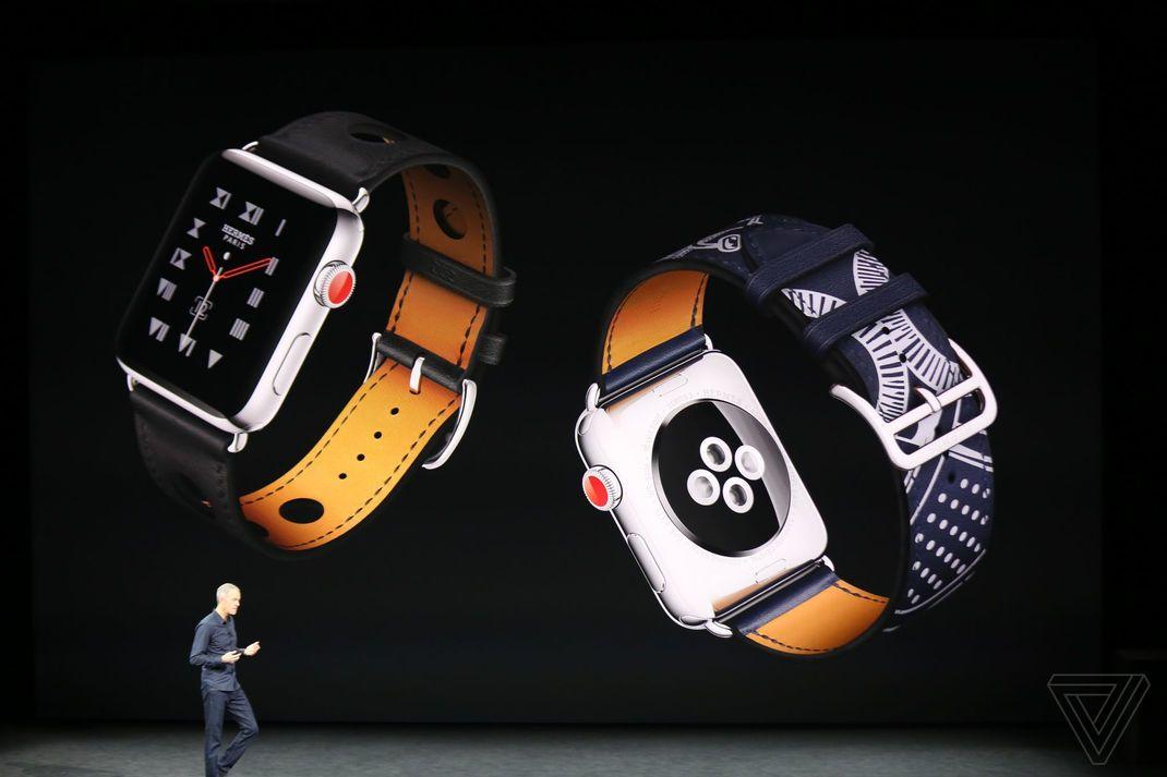 [Keynote] Apple Watch Series 3 4G téléphone Siri