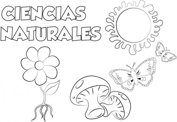 Dibujo Ciencias Naturales Para Imprimir Y Colorear Dibujos De Ciencias Naturales Caratulas De Ciencias Naturales Ciencias Naturales