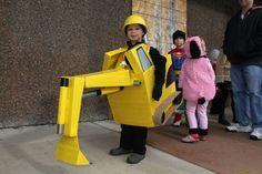 Excavator costume