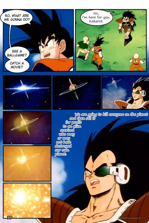 DragonBall Z Abridged: The Manga - Page 039 by ~penniavaswen