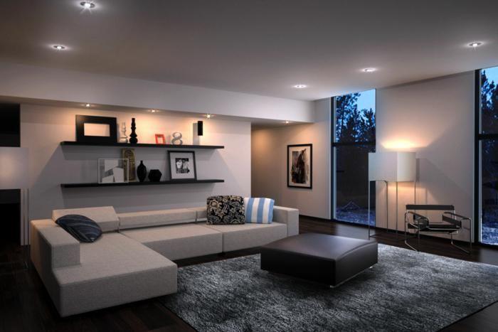 Wohnzimmermobel Modern Anbauwand Mit Viel Stauraum Mobel Mit En