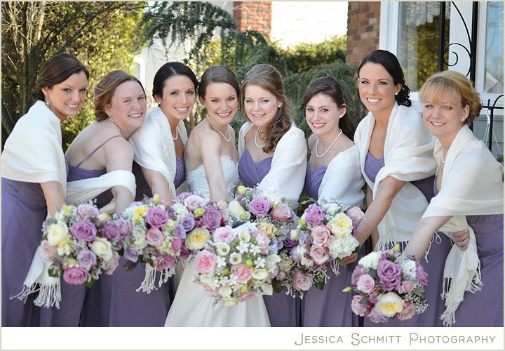 Bridesmaid Dress With Shawl Dark Purple Dresses Grey Shawls Would Be Perfect
