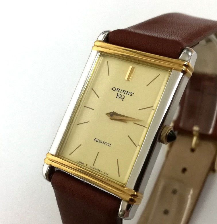 Reloj cadete ORIENT QUARTZ Original nuevo VINTAGE 90 s A00006 ... 3c22d59edb44