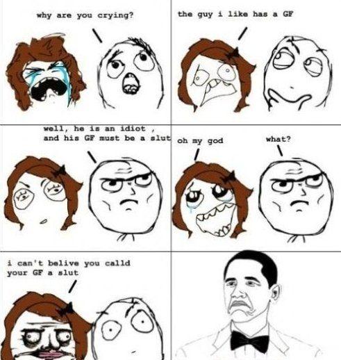 Funny Meme Cartoon : Rage comics middle school nerd alert pinterest