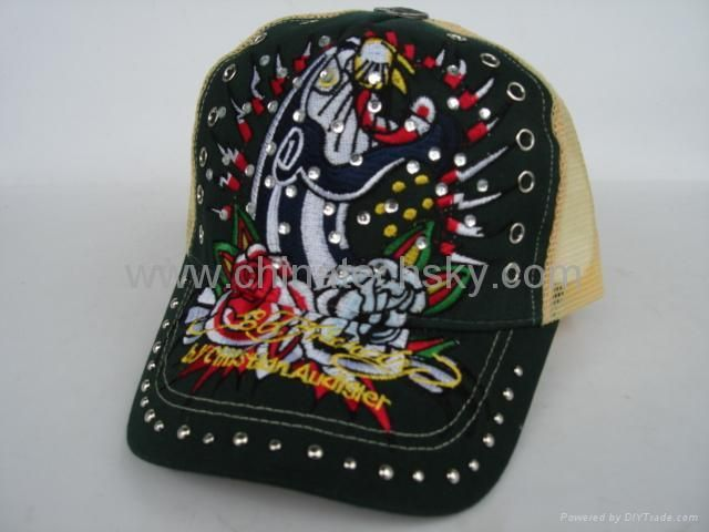 Black and Gold Ed Hardy