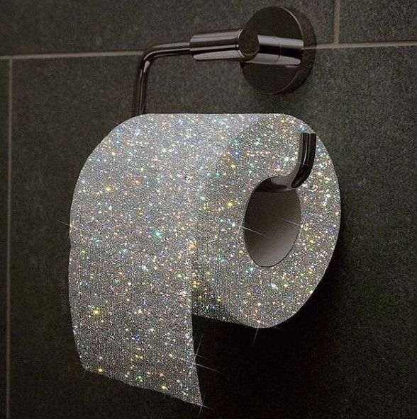 Sparkly Toilet Paper Yay Or Nay Inspo