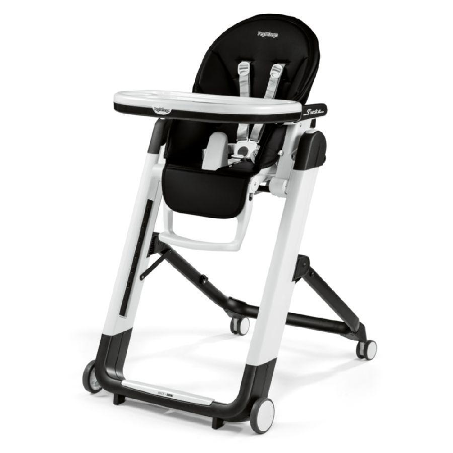Peg Perego Kinderstoel.Peg Perego Kinderstoel Siesta Licorice Lederimitaat
