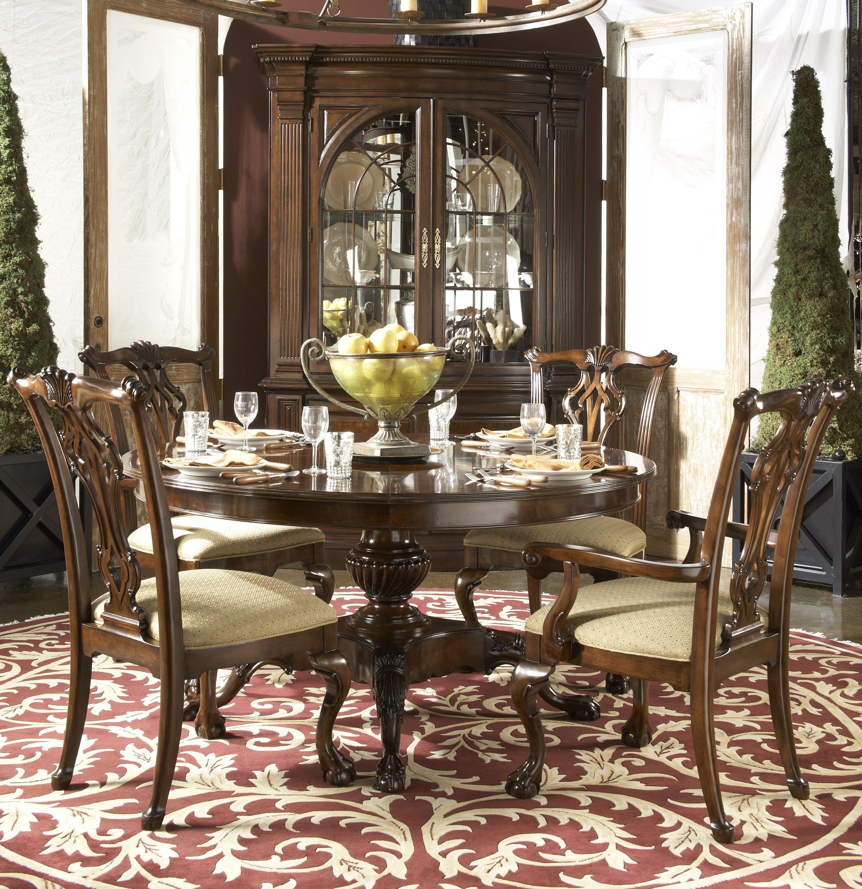 Fantastic 30 Beautiful Photo Of Cherry Dining Room Dining Room Download Free Architecture Designs Rallybritishbridgeorg