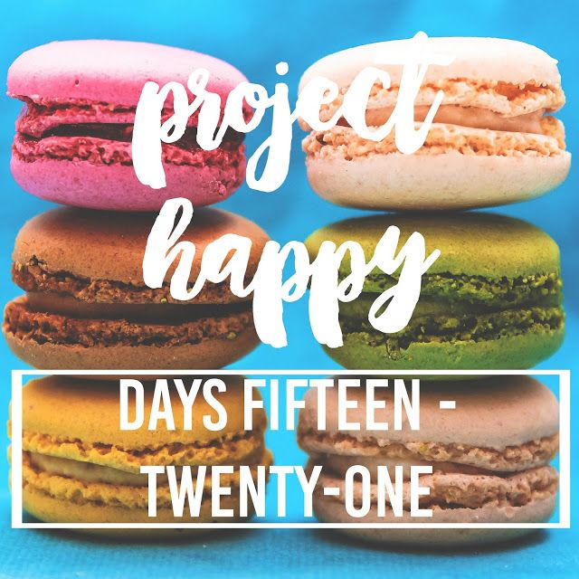 Project Happy: Days 15-21.