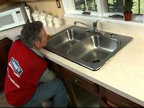 Cómo reemplazar e instalar un fregadero de cocina Hágalo usted mismo ...