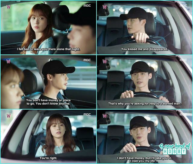 kang chul told yeon joo how he survived back then - W - Episode 11 Review