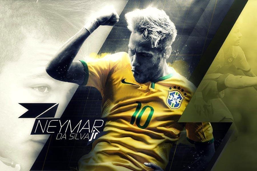 Neymar Football Wallpaper HD