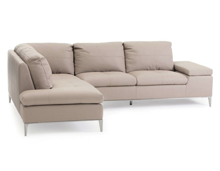 Struc White Sectional Sofa, Andrew Sectional Sofa