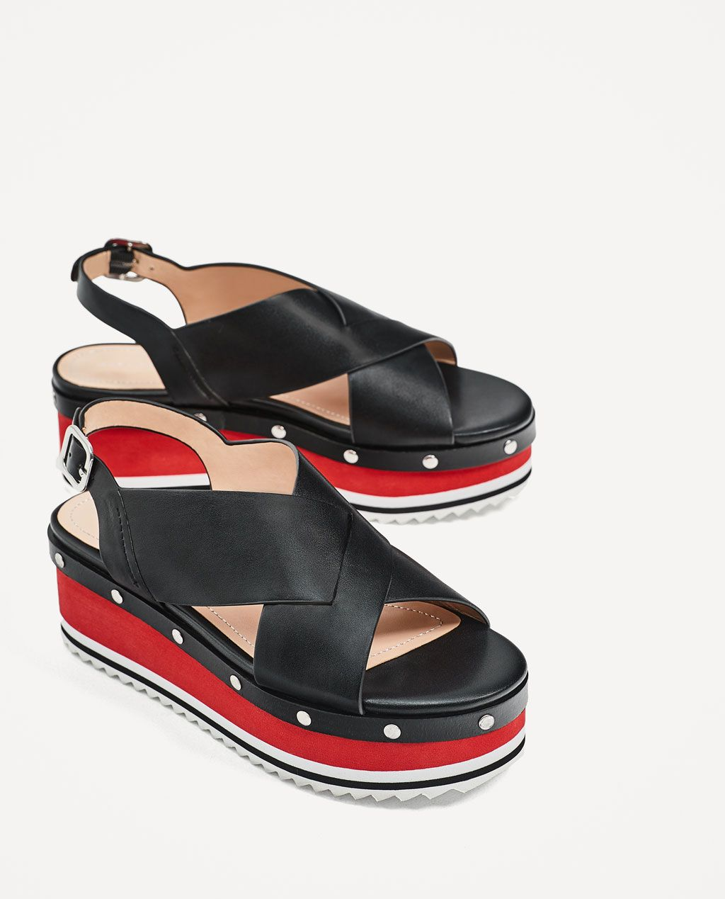 bb47695c CROSSOVER PLATFORM WEDGES-NEW IN-WOMAN | ZARA United States ...