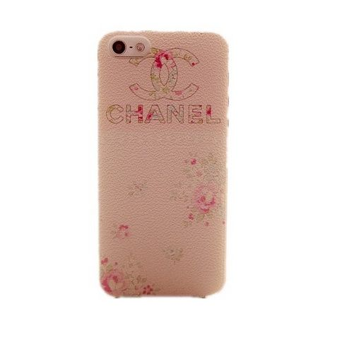 Iphone 4S/5/5S CC Marke Fashion Pink Litchi Linien Hülle Case