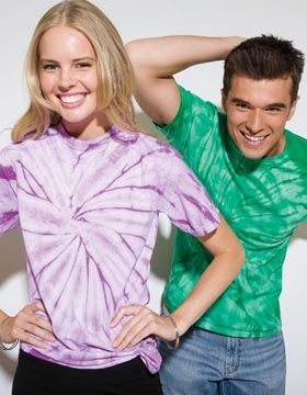 Tie-Dyed 952 - Spider Tie Dye Heavyweight T-Shirt #tiedyed #tiedyetees #summerfashions