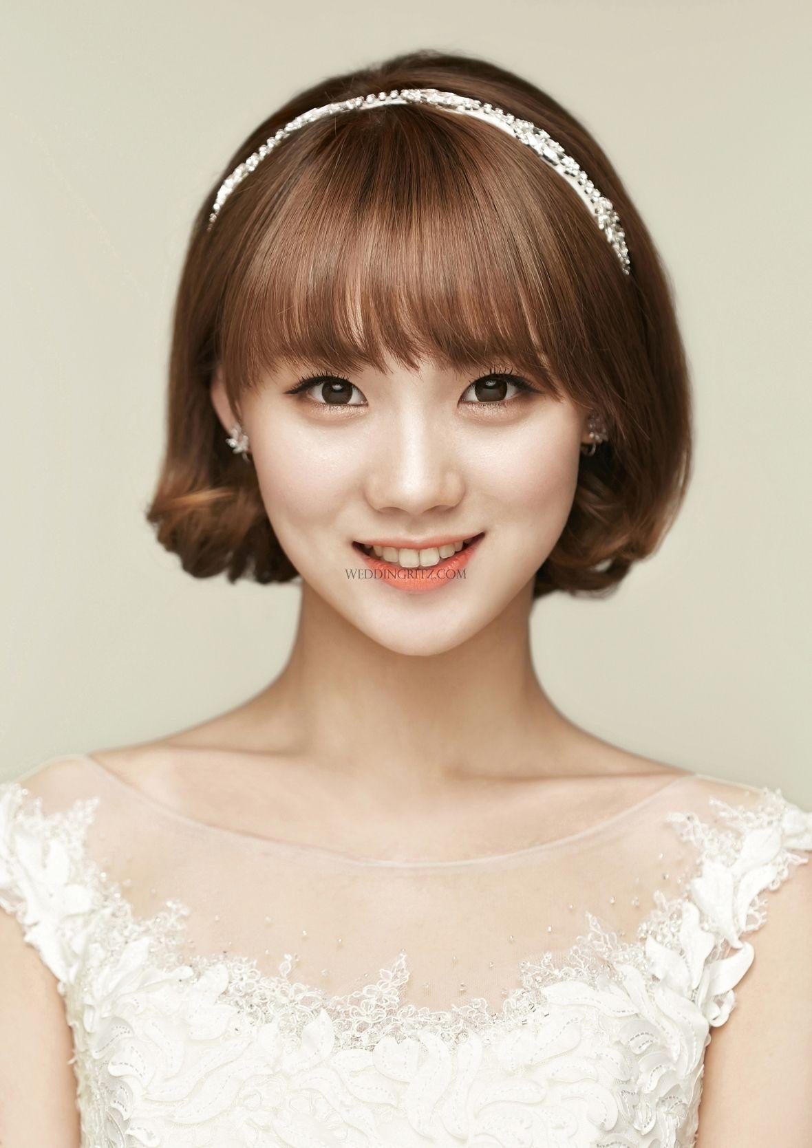 Sample Wedding Makeup : Pine Tree by Jin in Korea Hair and Makeup Sample Korean ...