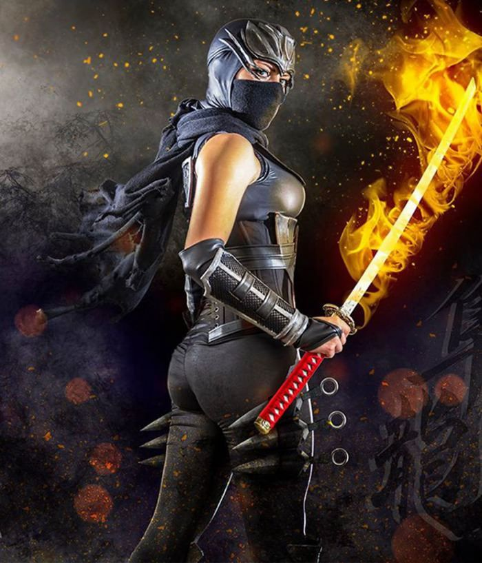 Ayane Ninja Gaiden Black I Understand This Is A Pic Of Her From Ng3 Wearing Her Ngblack Costume But I Couldn T Find A Full Body Samurai Gambar Transformers