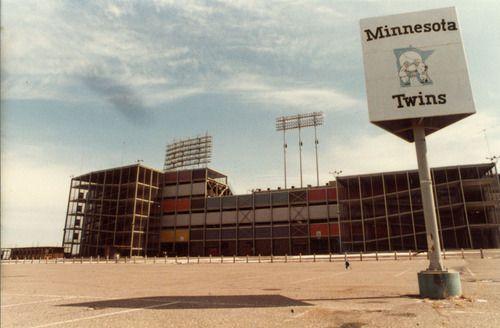 StadiumPage Blog: Stadium Remains- Part Seven - Metropolitan Stadium