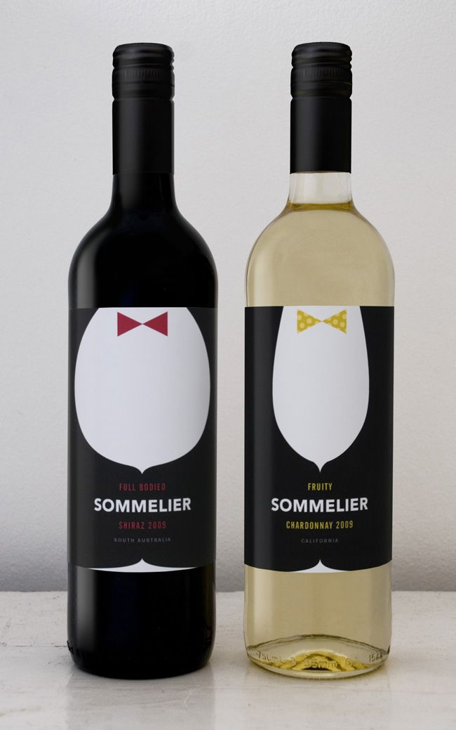 Sommelier Fine Wines on Packaging of the World - Creative Package Design Gallery