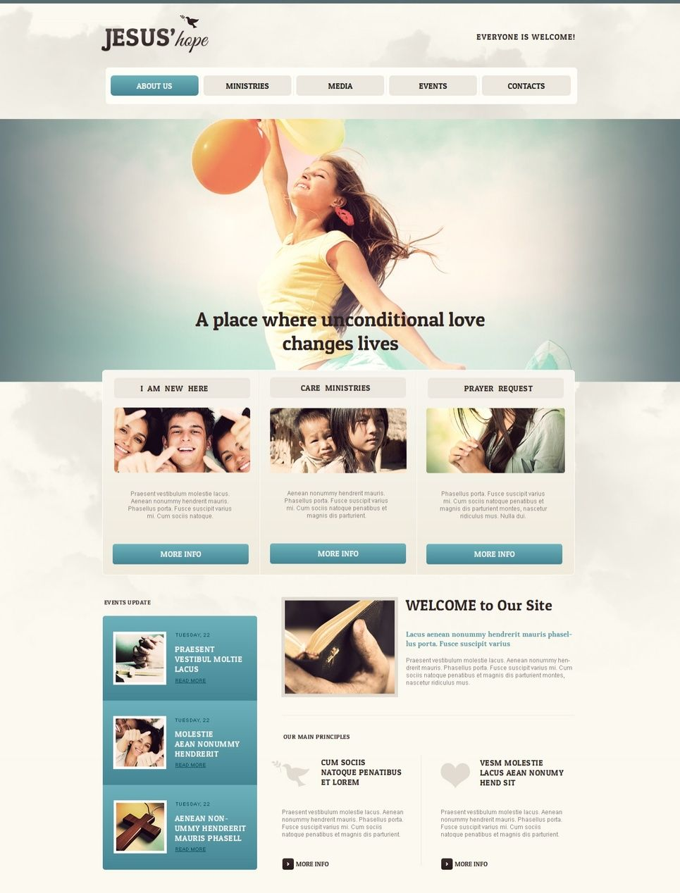 Charity Moto Cms Html Template 41607 Html Templates Web Design Software Templates