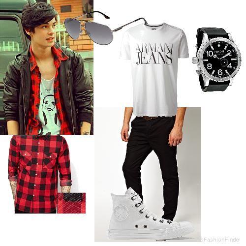 Mens fashion teen