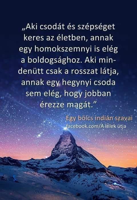 indián bölcsességek idézetek Egy bölcs indián szavai♡ | Inspirational quotes, Quotes about