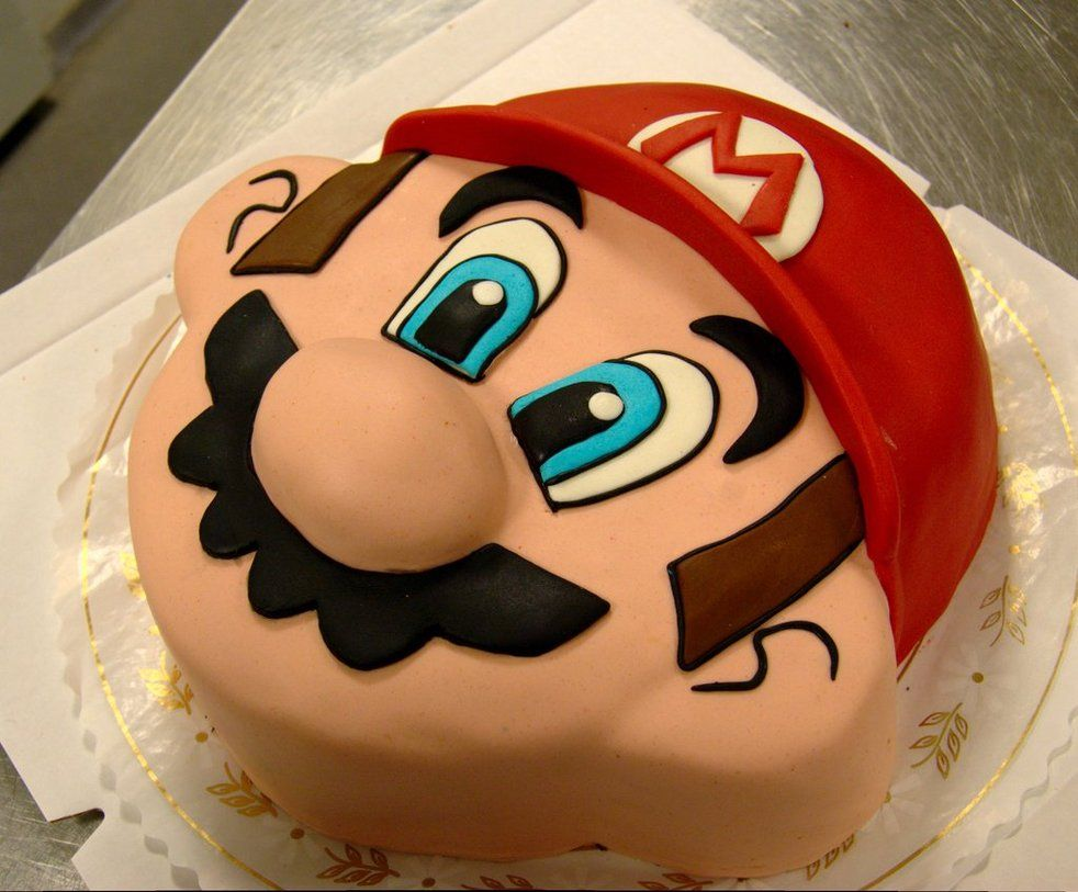 mario cake mario bros cake pinterest motivtorten torten und tortendeko. Black Bedroom Furniture Sets. Home Design Ideas