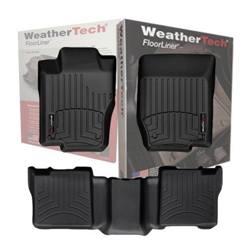 2012 2015 Toyota Tacoma Weathertech Floor Liners Front Row Only Fits Double Cab Only With 2 Retention Hooks Weather Tech Weather Tech Floor Mats Custom Fit