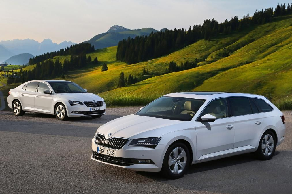 2015 Skoda Superb Saloon And Estate Official Pictures Carbuyer