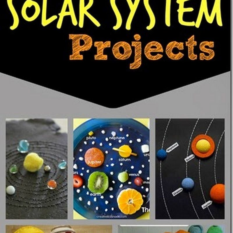 18 Solar System Projects http://www.123homeschool4me.com/2015/03/18 ...