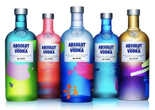 ABSOLUT Vodka Launches 4 Million One-Of-A-Kind Bottles - DesignTAXI.com