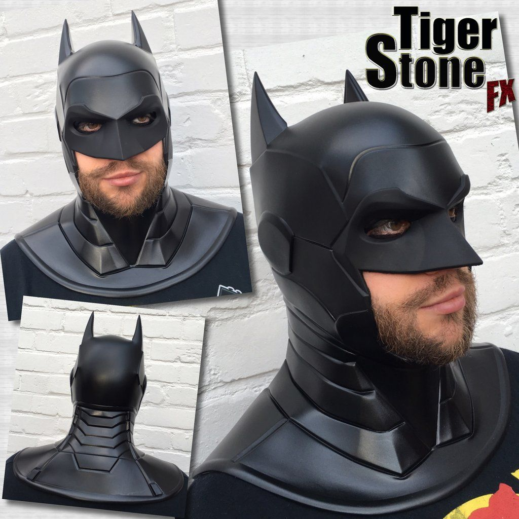 batman armored new 52 inspired cowl cosplay cowls and