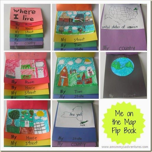 Me On The Map Flip Book Map Activities Kindergarten Social Studies Geography Activities How do i get the best results for a photo flipbook? me on the map flip book map