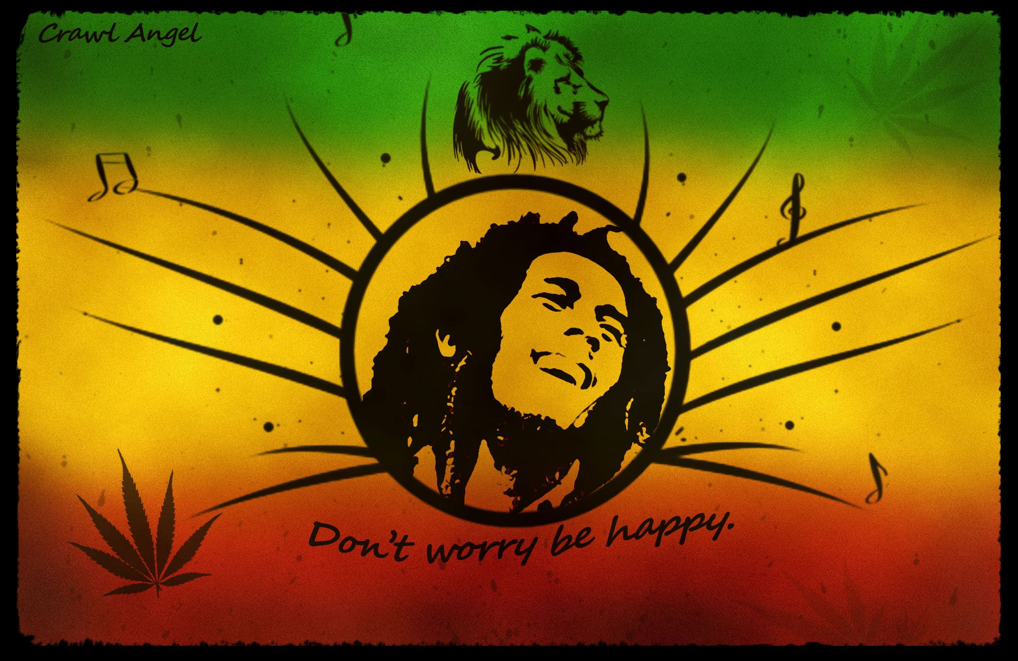 Bob Marley Wallpapers High Resolution And Quality Download Bob Marley Happy Wallpaper Bob Marley Painting