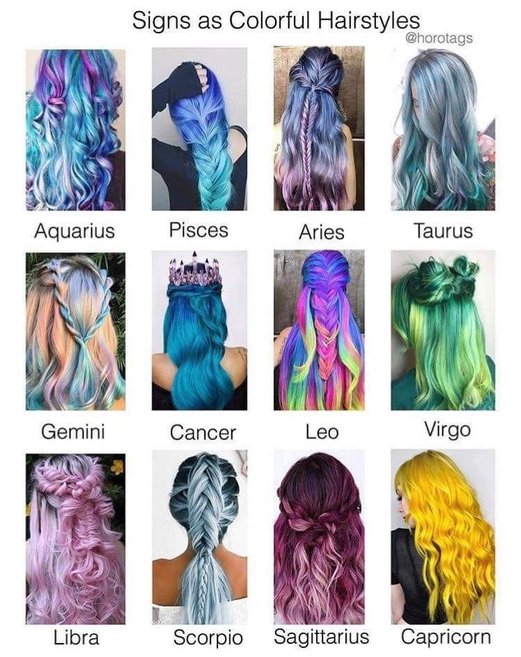 Why Does Capricorn Have To Get Yellow Hair Hairstyles Zodiac Signs Hairstyle Zodiac Zodiac Sign Fashion