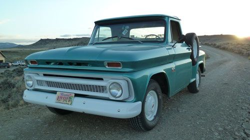 1966 Chevy C10 Stepside Short Bed With Images Chevy Trucks For