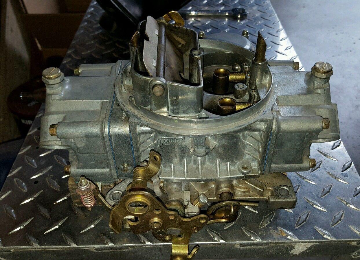 Holley Carburetor 80508-2, 750 cfm 4 barrel, vacuum