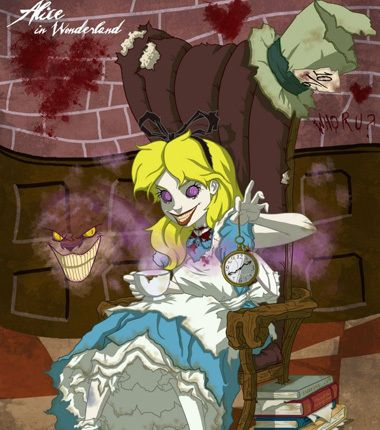 Not sure yet which one of my friends would do a good Alice.