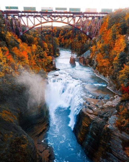 Letchworth State Park -  Michael Block Photography #BeautifulPlaces #BeautifulDestinations #Travel #Photography #Pgotographers #TravelPhotography #letchworthstatepark