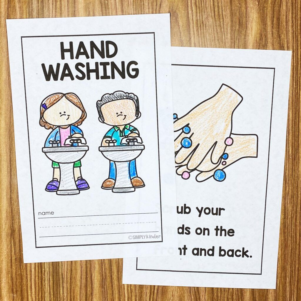 Free Hand Washing Book For Kids