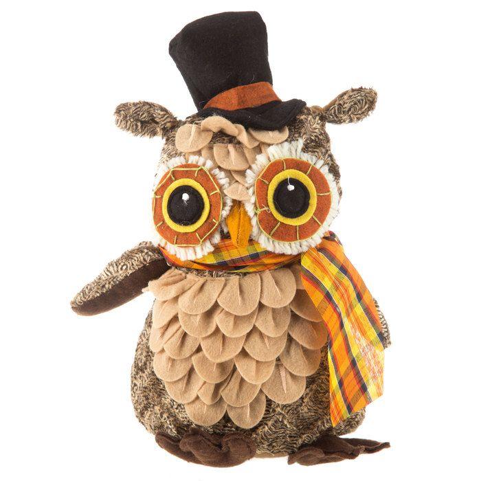 Polyester Owl Sitter