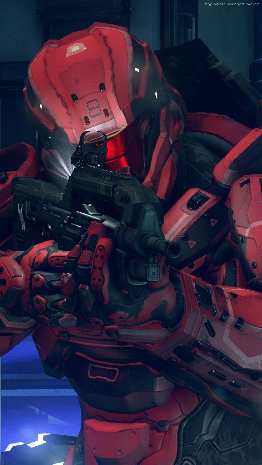 Halo 5 Guardians Game Mobile Hd Wallpaper In 2020 Halo 5 Halo Deadpool Hd Wallpaper