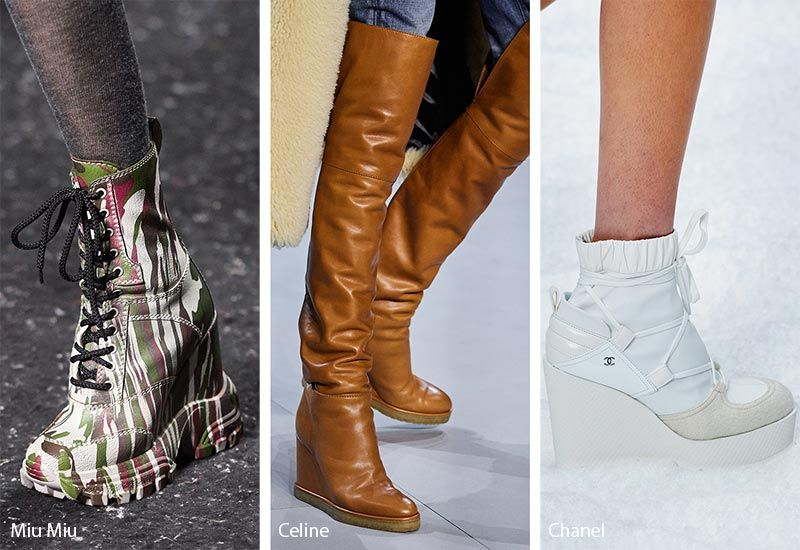 Fall Winter 2020 2021 Shoe Trends Trending Shoes Fashion Winter Shoe Trends