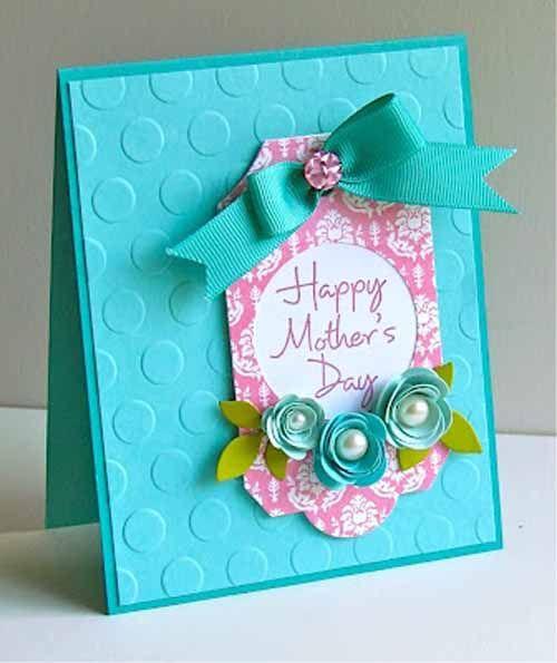Handmade Mother 39 S Day Cards 21 Cute Crafty Handmade