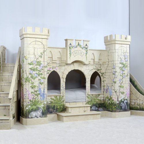Woodland_Princess_Castle_Bunk_Bed_1 | Slumber Party Ideas ...